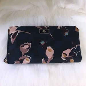 💃Kate Spade Dawn Paper Rose Continental Wallet